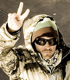 Jeremy Jones - Ice Axe Antarctica Expedition 2009 participant