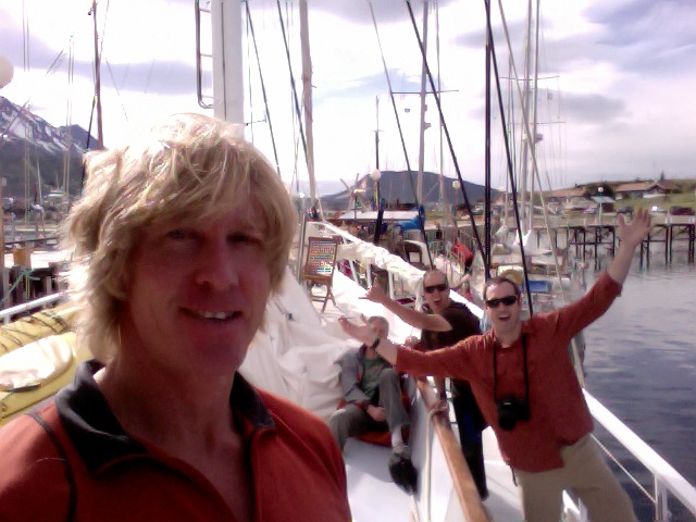 Doug Stoup & Ice Axe Crew ready to depart for Antarctica on the Australis