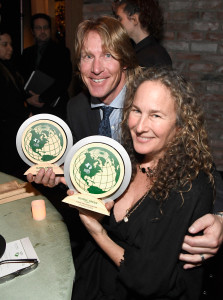 LOS ANGELES, CA - FEBRUARY 22: Honorees Douglas Stoup and Dianna Cohen attend the 14th Annual Global Green Pre Oscar Party at TAO Hollywood on February 22, 2017 in Los Angeles, California. (Photo by Frazer Harrison/Getty Images for Global Green)